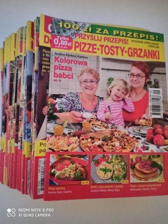 """34 sztuki """" Prześlij Przepis """" poradniki kulinarne kucharskie"""