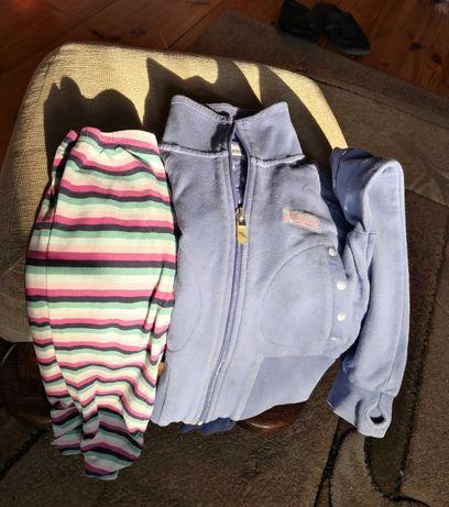 Pulower, bluza, spodnie, rajstopy