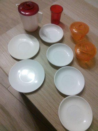 набор кукольной посуды СССР