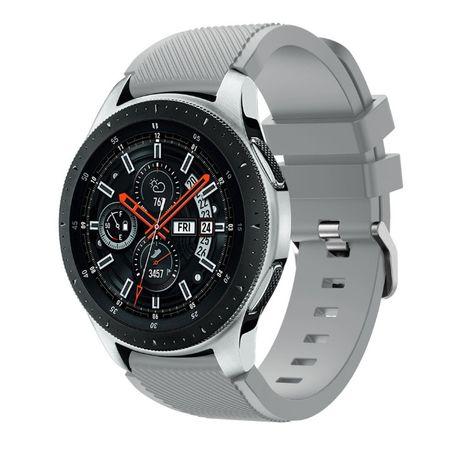 Силиконовый ремешок на часы Samsung Galaxy Gear S3, Galaxy Watch