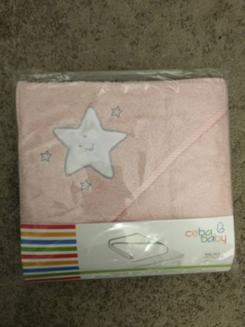 Gwiazdka różowa - Ręcznik kąpielowy 100 x 100 cm