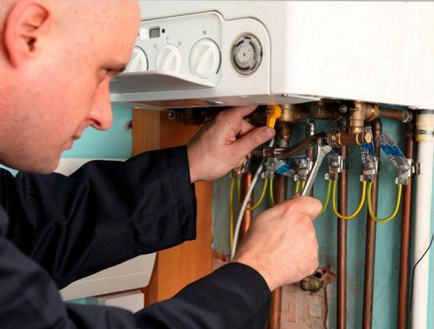 Ремонт газовых котлов колонок плит водонагревателей электро бойлера