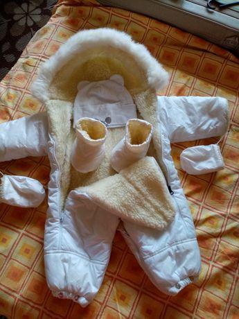 Шикарный комбинезон-мешок для младенца