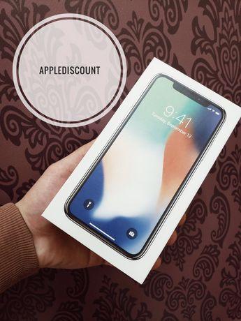 ••ШОК ЦЕНА• НОВЫЙ iPhone X 64gb•256 •АКЦИЯ• Space Gray Silver+ПОДАРОК•