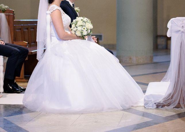 Suknia ślubna- stan idealny