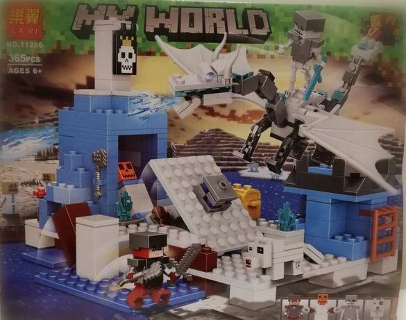 Klocki Lari 11266 My World Lodowy Smok jak Lego