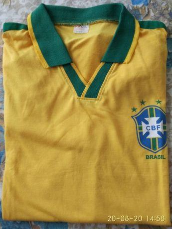 Camisola com gola Selecção Brasil