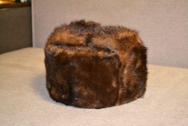 Шапка норковая, размер 58, ссср