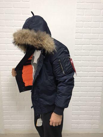 Мужская Куртка, парка, пуховик Alpha Industries N-2B Parka