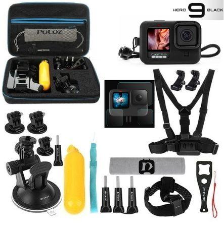 GoPro 10 e 9 Black - Pack Acessórios - Pack Pro - Novo - Portes Grátis