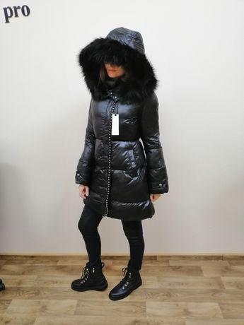 Пуховик зима PINKO Оригинал розмір 44 (М)