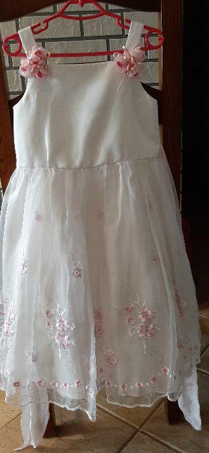 Śliczna sukienka wizytowa, wesele - roz 104 - Wójcik - elegancka !