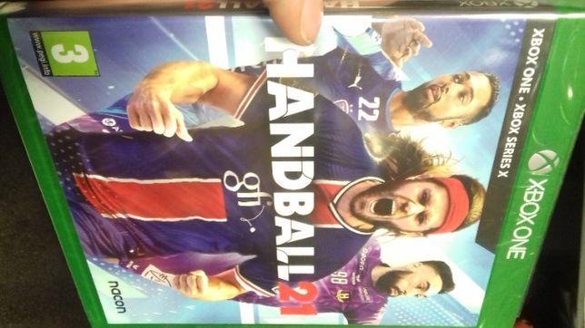 Handball 21 xbox one, folia, sklep, od ręki, fv