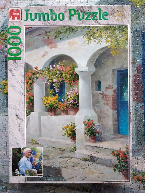 Puzzle Jumbo 1000 Landhaus (Gerhard Nesvadba)