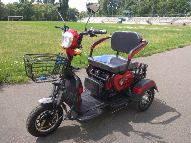 Электроскутер ElWinn ETB-122. Трицикл с Бесплатной доставкой!!!
