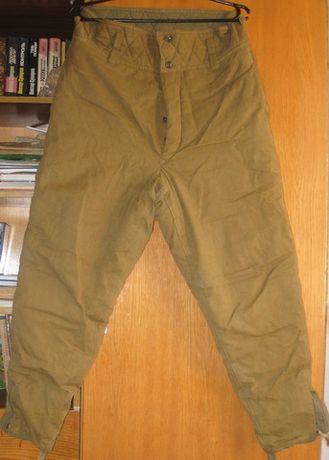 Теплые ватные зимние армейские штаны для рыбалки