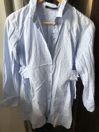Платье рубашка Mohito 100% коттон