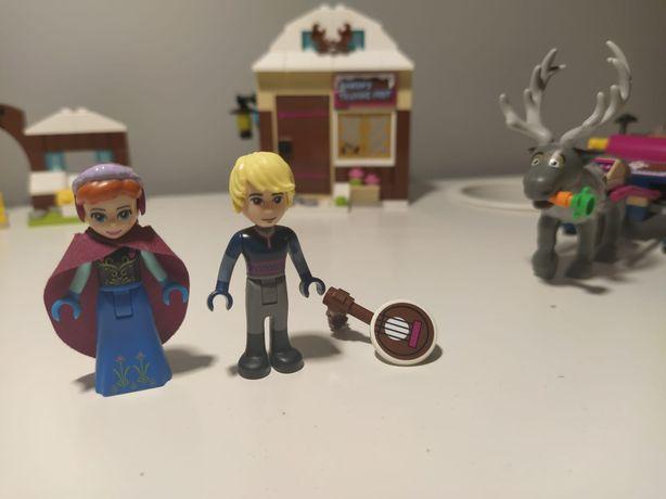 LEGO 41066 saneczkowa przygoda Anny i Kristoffa Frozen Kraina Lodu
