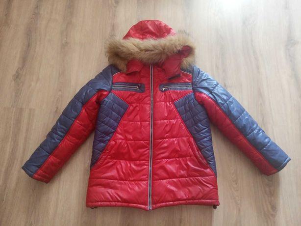 Продам куртку зимнюю ТМ Барбарис 164 см