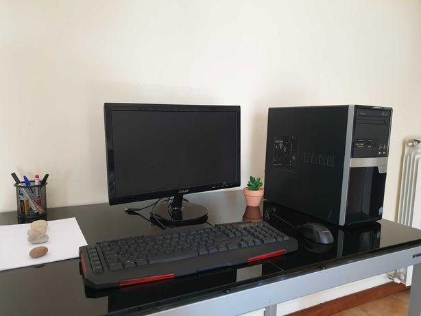 Computador RÁPIDO (Monitor incluído) c/teclado GAMING