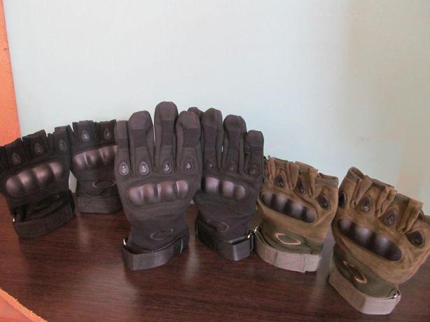 Перчатки Тактические, Oakley, green & black