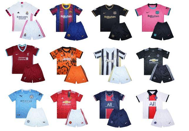 Детская футбольная форма 2020-2021. Новая коллекция уже в наличии!