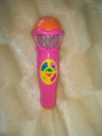Детский музыкальный микрофон