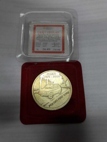 medal Fiat 126p z certyfikatem