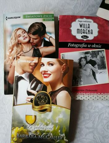 Zestaw 3 książek romansów