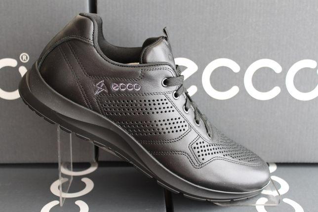 ECCO - кожаные кроссовки-туфли-кеды с перфорацией.(20-98перфорация)