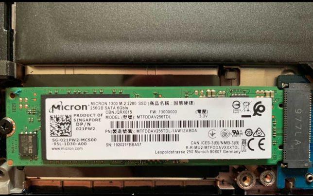Micron 1300 Solid State Drive TLC (SSD) M.2 M2 SATA 600 SSD 256Gb