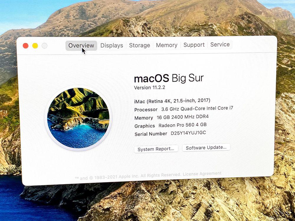 Apple iMac 27 и 21, 2015-2017, от 8 до 16GB. Полный комплект, Гарантия