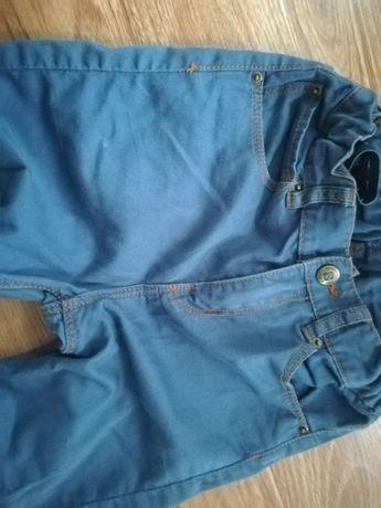 Spodnie jeansy H&M r. 134, stan bdb Wysylka