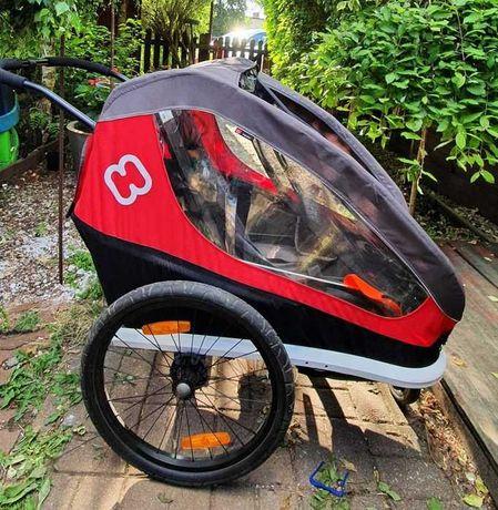 Przyczepka rowerowa Hamax Twin - dla 2 dzieci