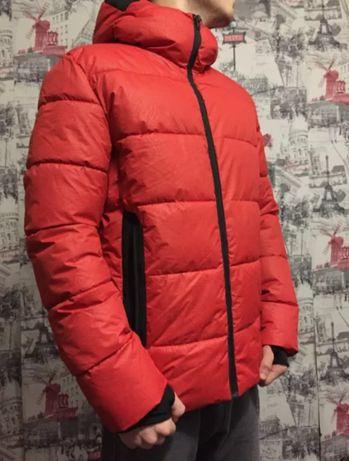 Новая куртка Jack & Jones. пуховик куртка красная зима весна деми