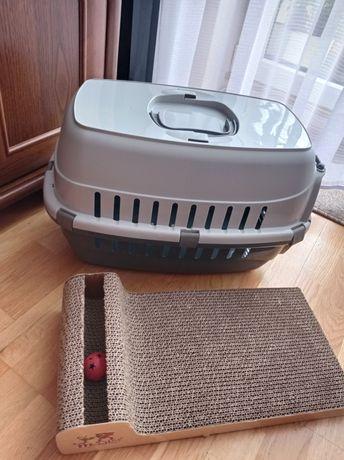 Transporter dla zwierzaka plus drapak