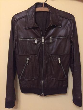 Куртка кожаная GF Ferre оригинал