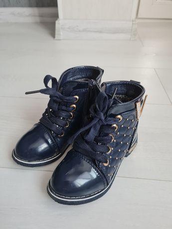 Демисезонные ботинки. Весенние ботиночки на девочку