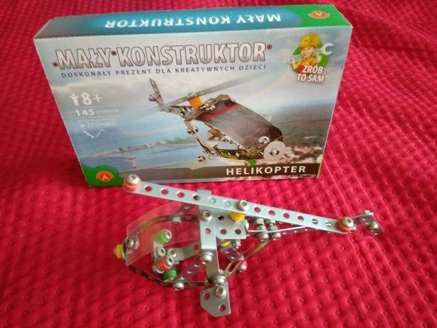 Mały konstruktor Aleksander helikopter