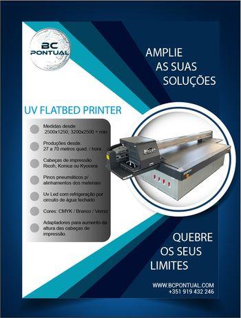 Impressora UV Led  nova
