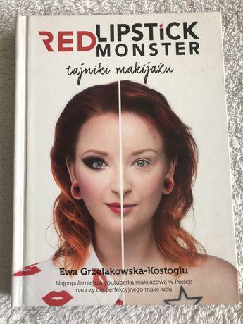 Książka Red Lipstic Monster Tajniki Makijażu