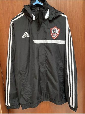 Adidas   Equipa Futebol Zamalek (Egipto) - Casaco Preto