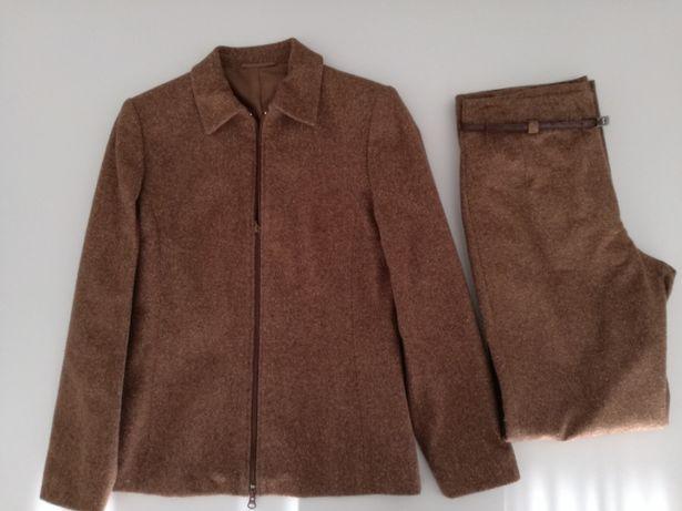 Conjunto calcas e casaco senhora T 36
