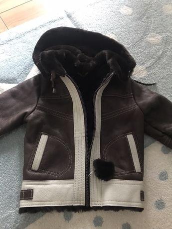 Kozuch kozuszek kurtka zimowa 86 92 plaszcz nowy
