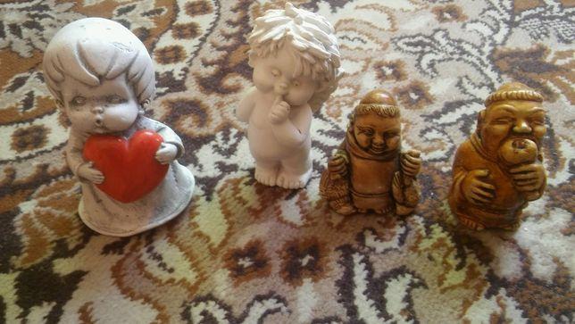 Gipsowe figurki Aniołki, Mnisi