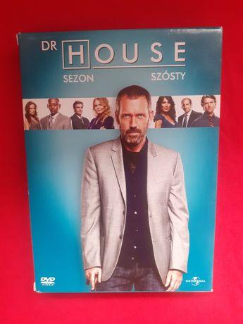 Dr HOUSE sezon 6 serial dvd
