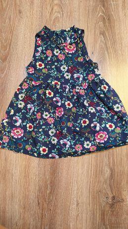 Nowa sukienka 86 kwiatki lato elegancka
