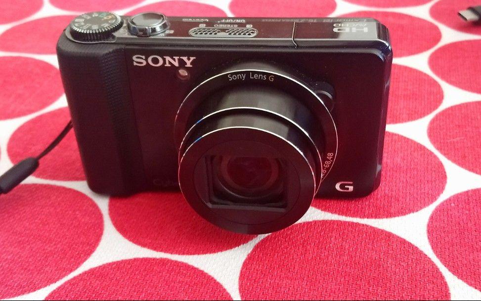 Sony DSC-HX9V com gps