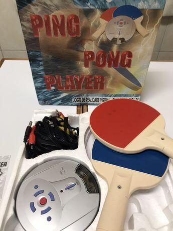Jogo Ping Pong virtual - ligação à TV