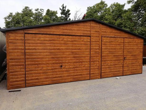 Garaże Blaszane BLASZAK producent garaży schowki na budowę garaż wiaty